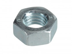 Forgefix Hexagonal Nuts & Washers ZP M8 Forge Pack 16