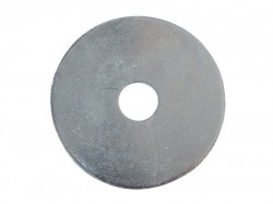 Forgefix Flat Mudguard Washers ZP M10 x 50mm Forge Pack 6