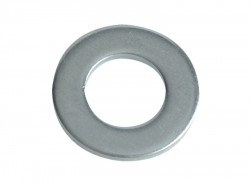 Forgefix Flat Washers DIN125 ZP M10 Forge Pack 15
