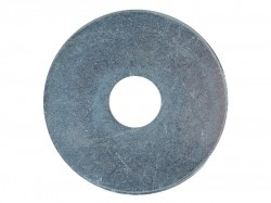 Forgefix Flat Mudguard Washers ZP M12 x 50mm Forge Pack 6