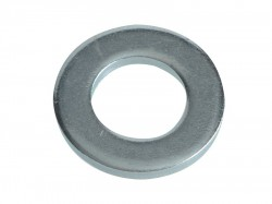 Forgefix Flat Washers DIN125 ZP M12 Forge Pack 12