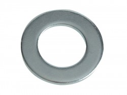 Forgefix Flat Washers DIN125 ZP M20 Forge Pack 6