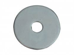 Forgefix Flat Penny Washers ZP M5 x 25mm Forge Pack 20