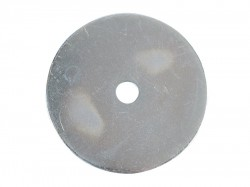 Forgefix Flat Mudguard Washers ZP M6 x 50mm Forge Pack 6