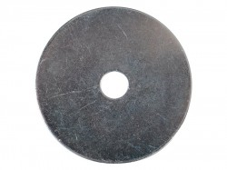 Forgefix Flat Mudguard Washers ZP M8 x 50mm Forge Pack 6