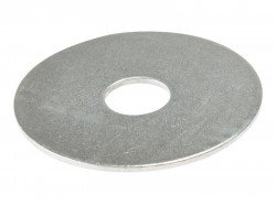 Forgefix Flat Mudguard Washers ZP M8 x 50mm Bag 10