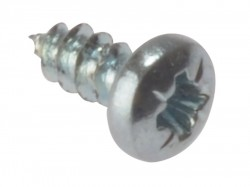 Forgefix Self-Tapping Screw Pozi Pan Head ZP 5/8in x 6 Box 200