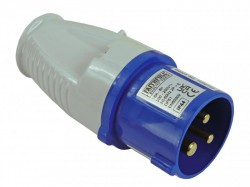 Faithfull Power Plus Blue Replacement Plug 240 Volt 16 Amp