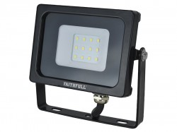 Faithfull Power Plus SMD LED Wall Mounted Floodlight 10W 800 Lumen 240V