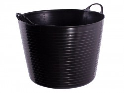 Red Gorilla Gorilla Tub® Large 38 litre - Black