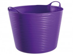 Gorilla Tubs Tubtrugs® Tub 38 Litre Large - Purple