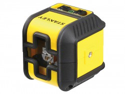 Stanley Intelli Tools Cubix Cross Line Laser Level (Green Beam)