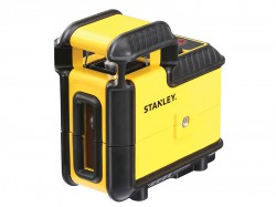 Stanley Intelli Tools 360° Cross Line Laser (Red Beam)
