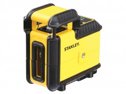 Stanley Intelli Tools 360° Cross Line Laser (Green Beam)