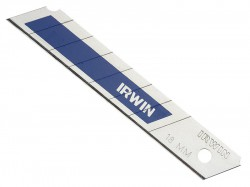 IRWIN Snap-Off Blades 18mm Blue Pack of 5
