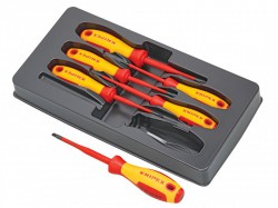 Knipex VDE Screwdriver Set, 6 Piece SL/PH/PZ