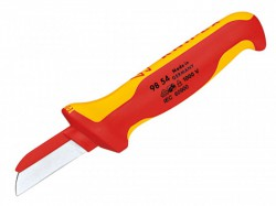Knipex Cable Knife VDE Insulated (Back of Blade Insulated)