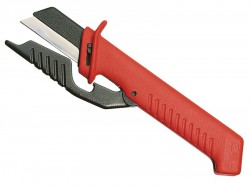Knipex Cable Knife with Hinged Blade Guard