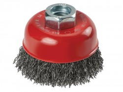 KWB Crimped Steel Cup Brush 60mm M14
