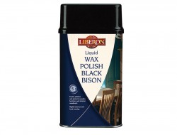 Liberon Liquid Wax Polish Black Bison Antique Pine 500ml