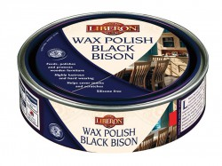 Liberon Wax Polish Black Bison Medium Oak 150ml