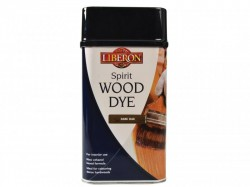 Liberon Spirit Wood Dye Dark Oak 1 Litre