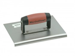 Marshalltown M120D Cement Edger Straight End Durasoft Handle 8in x 6in