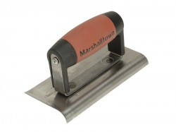 Marshalltown 176D Cement Edger Curved & Straight End Durasoft® Handle 6in x 3in