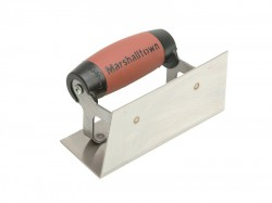 Marshalltown 65SSD Stainless Steel Internal Corner Trowel Square DuraSoft® Handle
