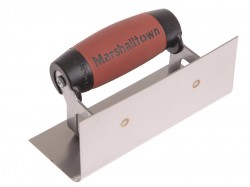 Marshalltown 66SSD Internal Corner Trowel Rounded Stainless Steel DuraSoft Handle