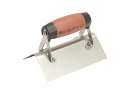 Marshalltown 68SSD Stainless Steel External Corner Trowel Rounded DuraSoft® Handle