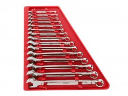Milwaukee Hand Tools MAX BITE Combination Spanner Set, 15 Piece
