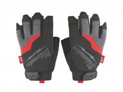 Milwaukee Hand Tools Fingerless Gloves - Large (Size 9)