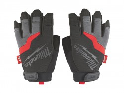 Milwaukee Hand Tools Fingerless Gloves - Extra Large (Size 10)