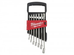 Milwaukee Hand Tools MAX BITE Combination Spanner Set, 7 Piece
