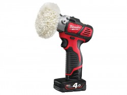 Milwaukee M12BPS-421X Cordless Polisher/Sander 12 Volt 1 x 4.0Ah Li-Ion
