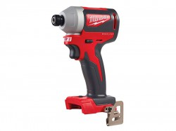 Milwaukee Power Tools M18 BLID2-0X Brushless 1/4in Hex Impact Driver 18V Bare Unit