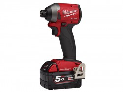 Milwaukee Power Tools M18 ONEID2-502X Next Gen ONE-KEY Impact Driver 18V 2 x 5.0Ah Li-ion