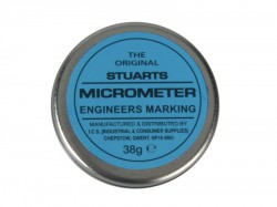 Miscellaneous Tin of Micrometer Blue