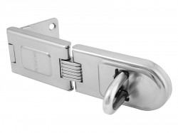 Master Lock Wrought Steel Single Hinged Hasp 200mm