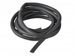 Monument 1729T Black Rubber Hose 2m