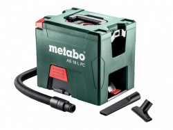 Metabo AS 18 L PC Cordless Vacuum Cleaner 18V Bare Unit