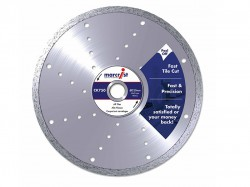 Marcrist CK750 Diamond Blade Smooth Tile Cut 115mm x 22.2mm Hand