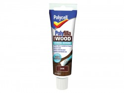 Polycell Polyfilla For Wood General Repairs Tube Dark 75g
