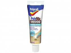 Polycell Polyfilla For Wood General Repairs Tube Light 75g