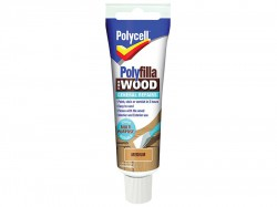 Polycell Polyfilla For Wood General Repairs Tube Medium 75g