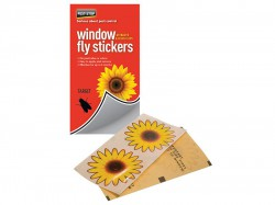Pest-Stop Systems Window Fly Stickers (Pack of 4)
