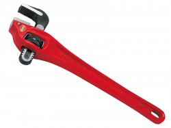 RIDGID 89435 Heavy-Duty Offset Pipe Wrench 350mm (14in) Capacity 50mm