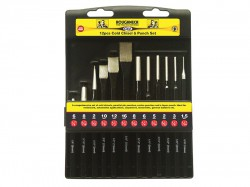 Roughneck Punch & Chisel Set of 12