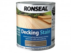Ronseal Decking Stain Rich Teak 5 Litre